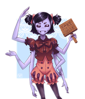 [ Undertale ] Muffet by soap-ai
