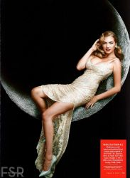 Giga Kate Upton on the Moon (I'm not an author) by ZituKX