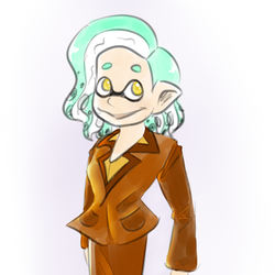Office Squid by vintage-amy