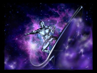 Silver Surfer by Rywell