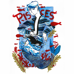 Pisces by CathGomes