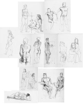 Figure Drawing by lucius-phoenix