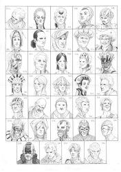 Heads 545-578 by one-thousand-heads