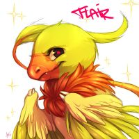 Flair, the shiny archen