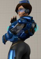 Dat Tracer (cadet oxton) by Stormdrexo