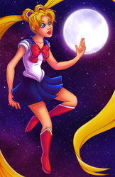 Sailor Moon by jessijoke
