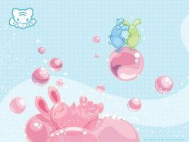 Jelly Bunny Bubbles by lafhaha