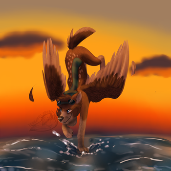 [PRIZE] spread your wings by TerraTimberWolf