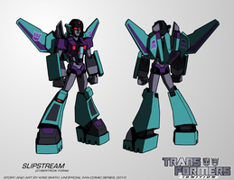 TF:Ignition - Slipstream (Cybertron Mode) by KrisSmithDW