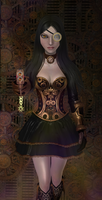 SteampunkAlice, wip 2 by tombraider4ever