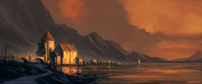 Patreon IP09 - Scottish Castle C by andreasrocha