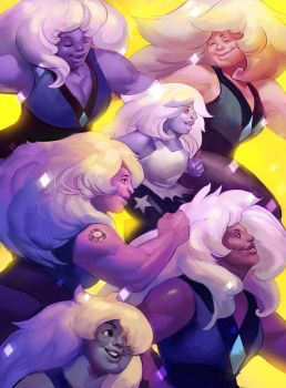Some Amethysts by juliedillon