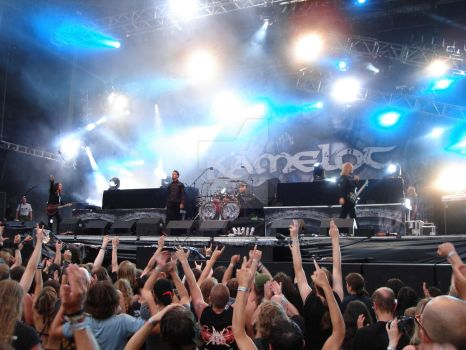 Kamelot at Metal Camp by Tanit-Isis