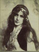 Vintage Stock - Bohemian Girl by Hello-Tuesday