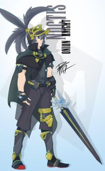 Final Fantasy XV: Onion Knight Noctis by PixelMagus