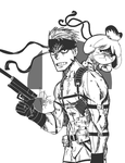 Snake and Isabelle by ales-bowie