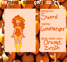 Orange Zircon Form by Abby-Baba