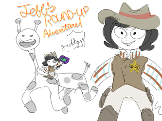Jeff's Roundup Adveture by m5w