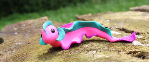 Sea Slug Dragon by AloysiusEnterprises