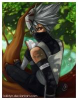 Kakashi by Lokklyn