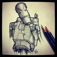 Battle Droid by Geekincognito