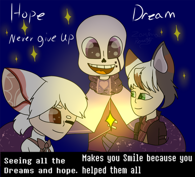 You helped so many fine there Hopes and Dreams by ZarinaRoseYT