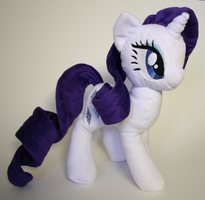 Rarity Plushie by Yukamina-Plushies