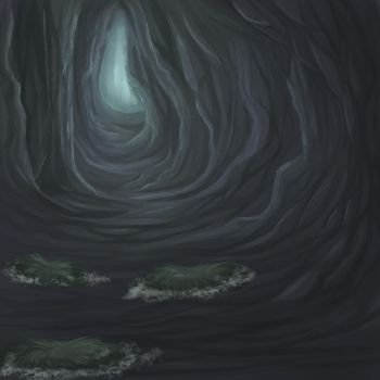 the cave by KamoFalcon