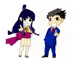 GS: Phoenix and Maya by Picup