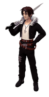 Squall_lowpoly_02 by Shunsquall