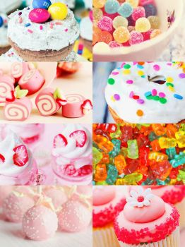 PSD Pack #2/ 8 PSD/ Picspam Candy/ By Sumi23 by DDH-Sumi23