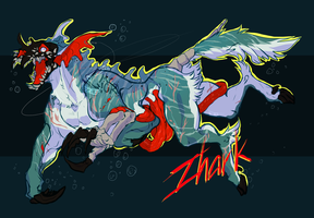 [HALLOBUKI ADOPT] Zhark - SOLD by HiddenTape