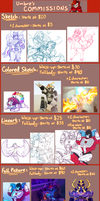 Commission Info (Needs to be Redone/Updated) by CandyChameleon
