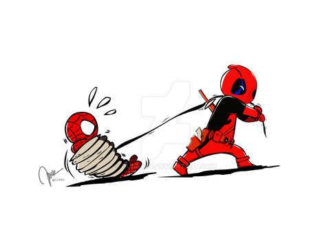 DPdeadpool by GuNnM21