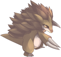 Sandpan | Sandslash Commission II