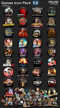 Games icon pack 1.3 by VirTualGamers