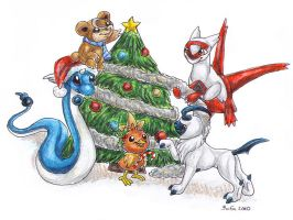 Holiday PokeSwap by Bafa