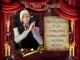 The Penny Dreadfuls - Vincent William by Astra-cat