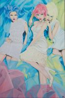 The Candy Girls of W Korea by soulexposed