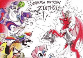 Pony Titans - The End pt. 2 by NuclearKitsune