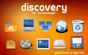 Discovery for IconPackager by MrEyePatch