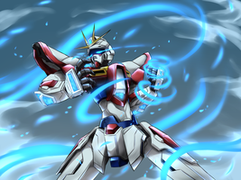 Build Burning Gundam by PinguinKotak