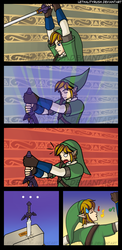 Link can't Master Sword by Lethalityrush