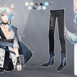 [CLOSED] Auction Adopt Water Biheart by sarahwidiadopts