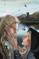I will tell him - Andreth and Finrod by SaMo-art