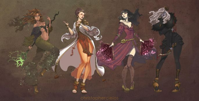 Battle Realms - All the Healing Ladies by christophercielos