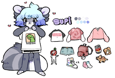 Supi Reference Sheet by supichu