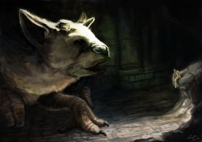 The Last Guardian:Trico by FOX232