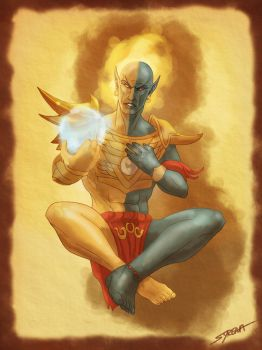 Vivec by SlayerSyrena