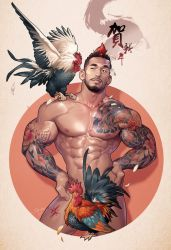 YEAR OF THE ROOSTER by silverjow